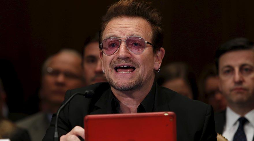 Bono: Türk halkı örnek bir davranış sergiledi