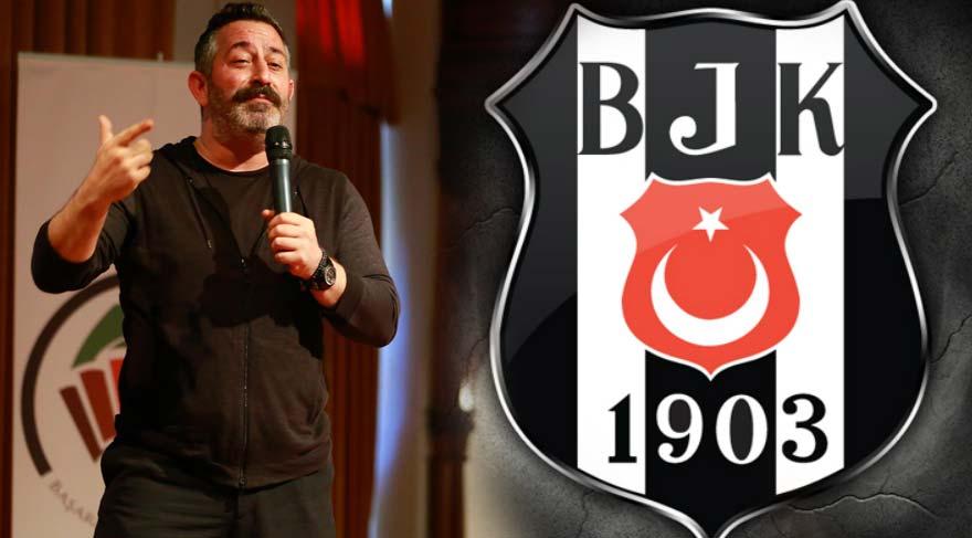 Cem Yılmaz Beşiktaş Vodafone Arena'nın açılışıyla ilgili espri yaptı