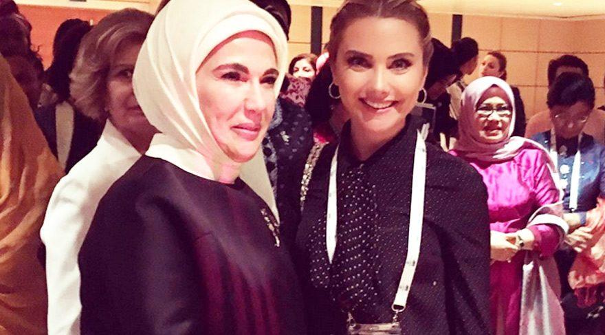 Ece Erken, Emine Erdoğan ile çekilmiş fotoğrafını paylaşınca…