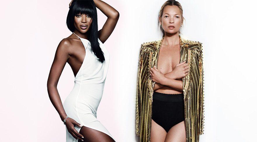 Kate Moss ve Naomi Campbell 20 yıl sonra yeniden birlikteler