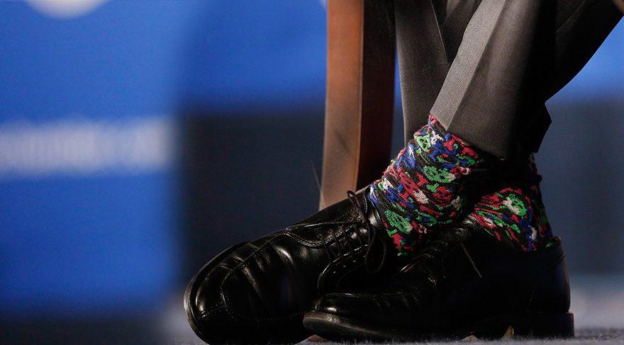 Kanada Başbakanı Justin Trudeau'nun sırrı çorapları