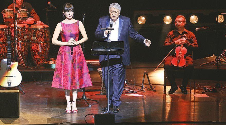 Macias konseri Şevval'le verdi