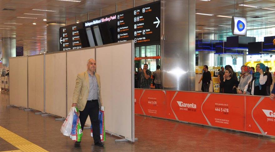 Atatürk Havalimanı'nda 'kaçakçılık' paravanı