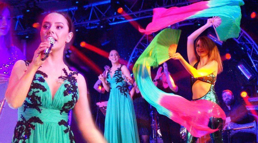 Ebru Gündeş'in İzmir konseri
