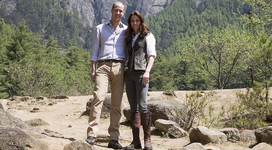Kate Middleton ve Prens William Foto: DepoPhotos