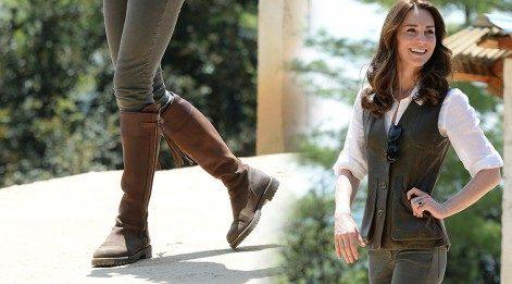 Kate Middleton 12 yıldır aynı çizmeleri giyiyor