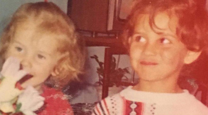 Esra Erol çocukken