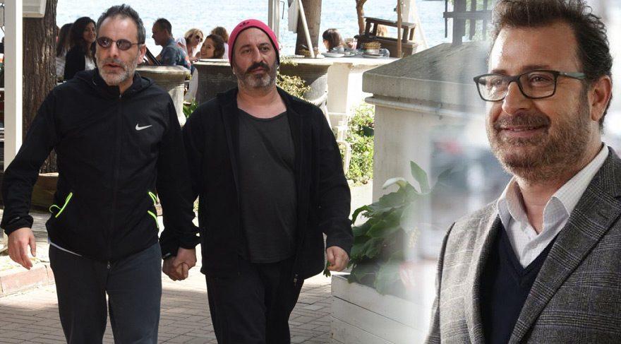 Can Yılmaz, kardeşi Cem Yılmaz'ın Ozan Güven'le çekilen el ele fotoğraflarını yorumladı
