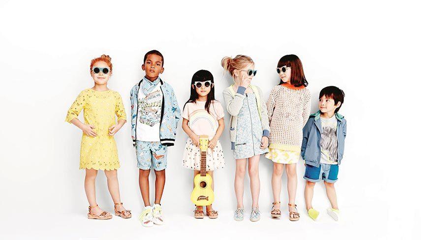 Modada sevginin dili çocuklar!