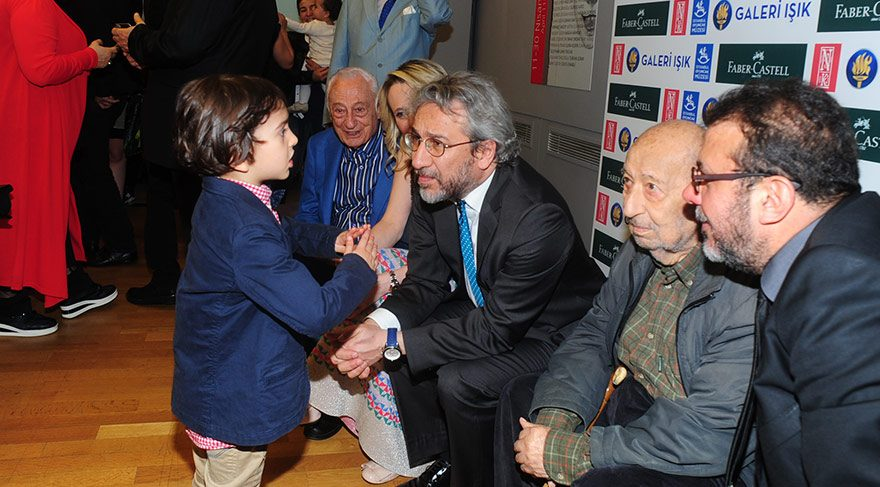 'Yüzündeki Çocuk' resim sergisi açıldı