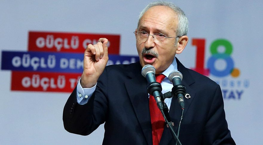 Kemal Kılıçdaroğlu'ndan 'dokunulmazlık' resti