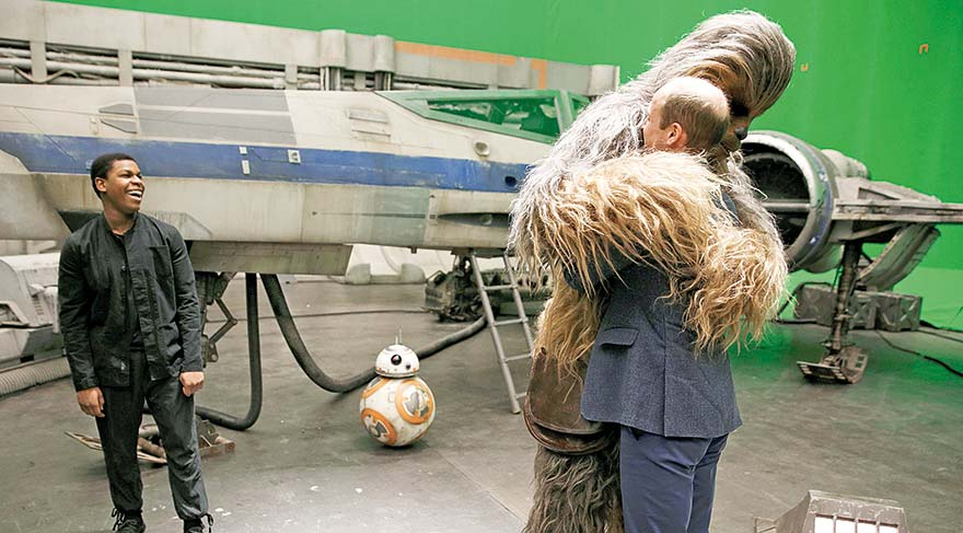 Prensler 'Star Wars' hayranı çıktı