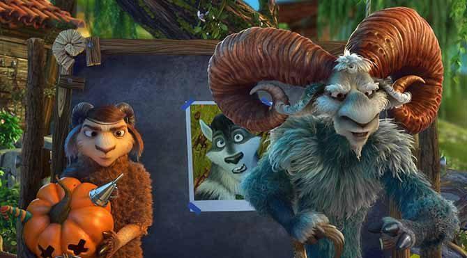 Sihirli bir dünyada bir koyun sürüsü kendi halinde yaşayıp gitmektedir.