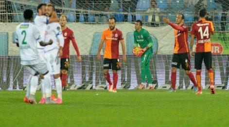 Galatasaray Çaykur Rize maç özeti izle: GS-RİZE özet izle: Cimbom final kapısını araladı