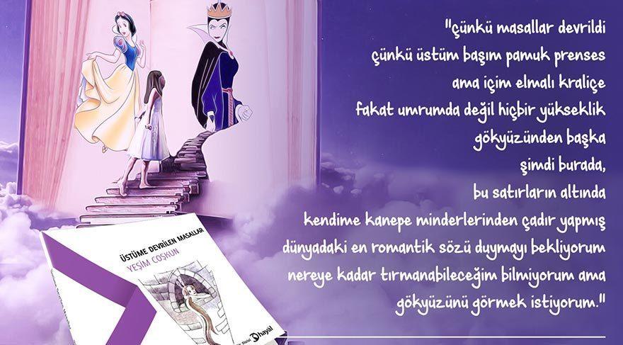 Genç yazar Yeşim Coşkun'un ilk kitabı: Üstüme devrilen masallar