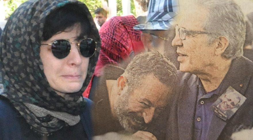 Attila Özdemiroğlu cenazesinden çok konuşulacak Cem Yılmaz fotoğrafı