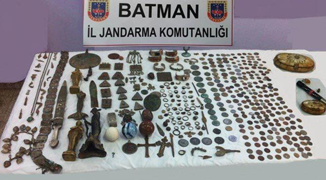 Batman'da tarihi eser kaçakçılığı - Son dakika haberleri