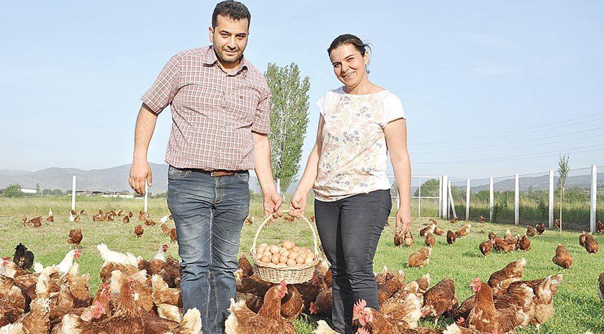 Üç tavukla başladılar şimdi marka oldular