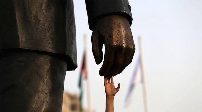 Barışın eli Filistin'e uzandı