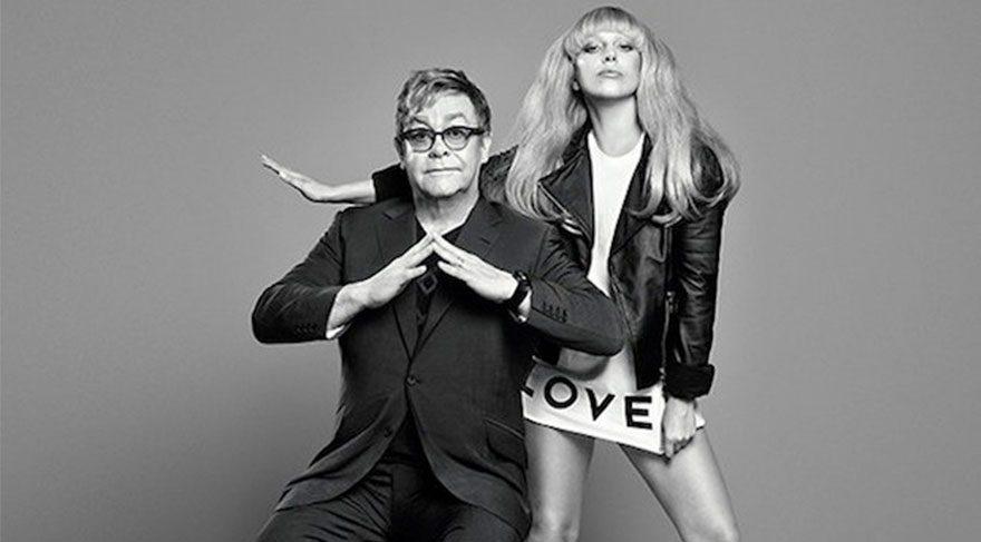 Elton John ve Lady Gaga'dan özel koleksiyon