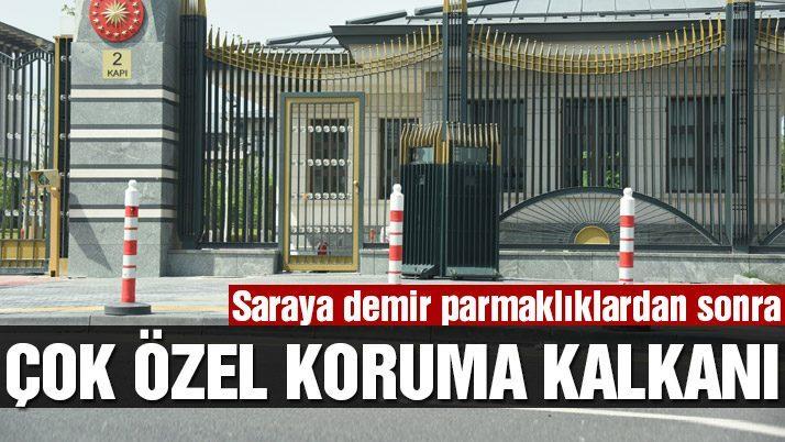 Ak Saray'a çok özel zırh!