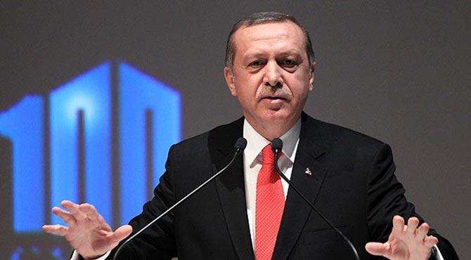 Erdoğan: Tarihimizi 1919'dan başlatan anlayışı reddediyorum