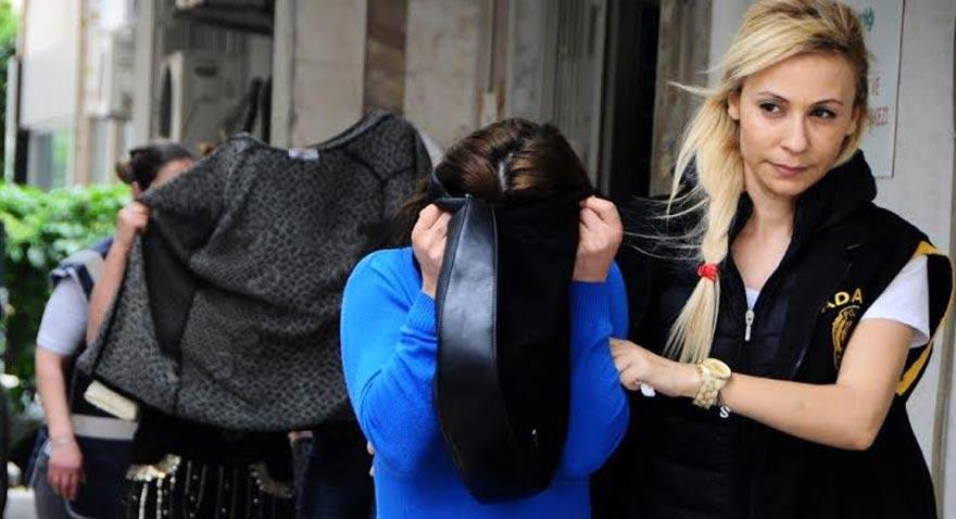 Adana'da fuhuştan gözaltına alınan kadın poliste verdiği ifadesinde