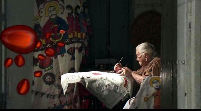 Basma sanatının son ustası Nasra Şimmeshindi, 92 yaşında öldü
