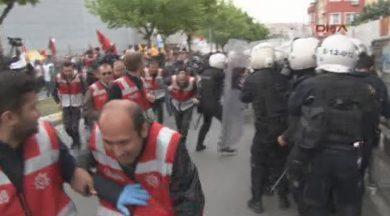 Bakırköy'de HDP'lilere müdahale