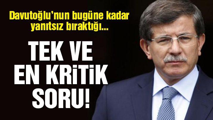 Davutoğlu MKYK sorusunu yanıtlamadı