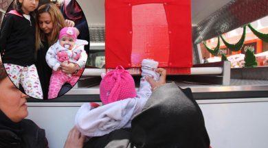 Şehit kızından babaya son dokunuş