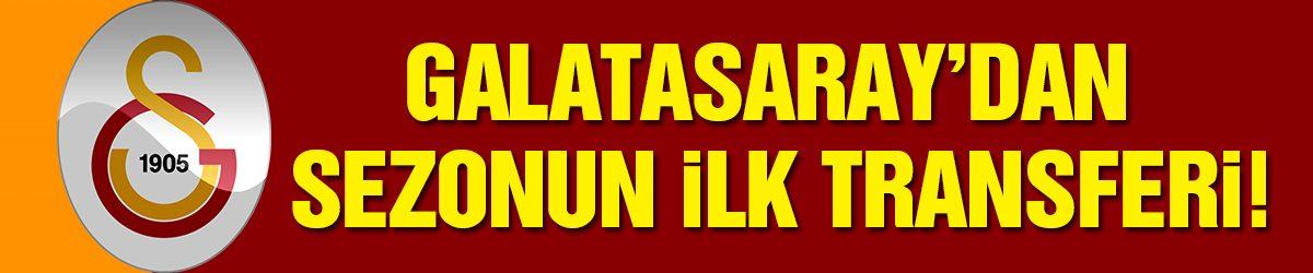 Galatasaray ilk transferini bitiriyor