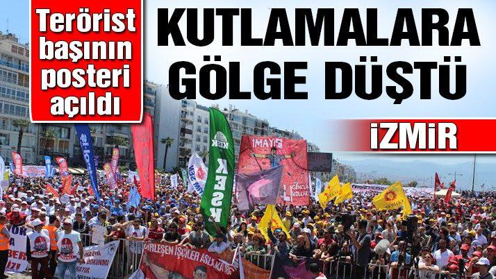İzmir'de işçi bayramına gölge düştü