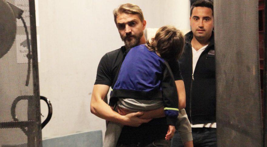 Caner Erkin görüntü alan gazetecilere sert çıktı