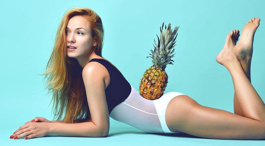 Ananas ödemin ve selülitin düşmanı