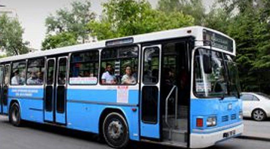 Belediye otobüsünde başlayan siyasi tartışma karakolda son buldu.