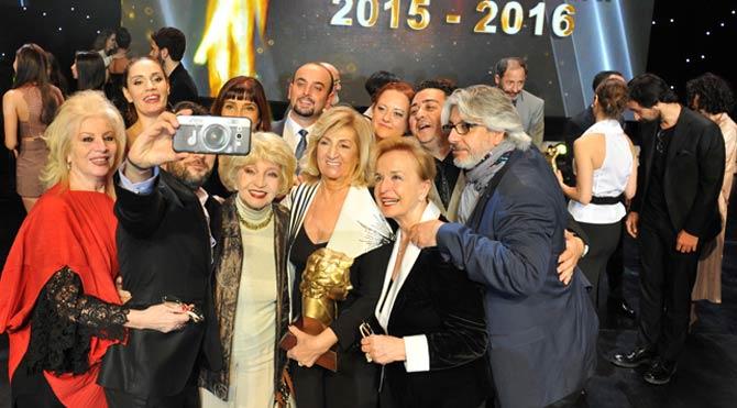 Sadri Alışık Ödülleri'nden renkli görüntüler