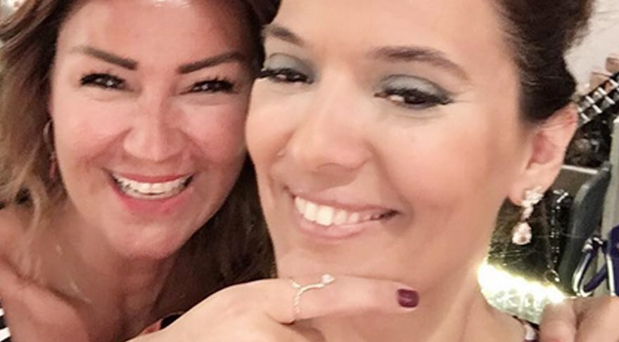 Demet Akalın arkadaşı Pınar Altuğ Atacan'a böyle destek verdi