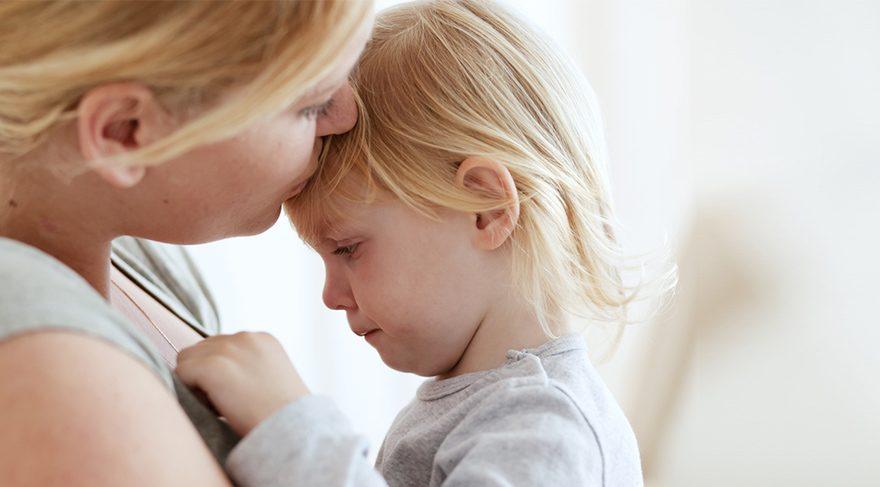 Çocuklarınızı kucağınıza almaktan kaçınmayın
