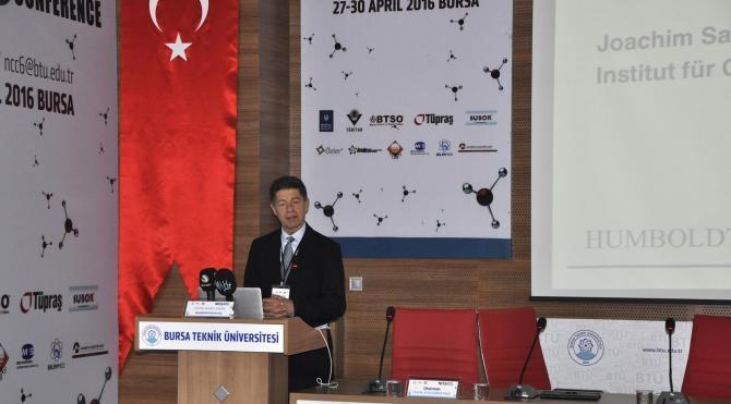 Merkel'in eşi Prof. Dr. Joachim Sauer'den Bursa Teknik Üniversitesi'ne övgü