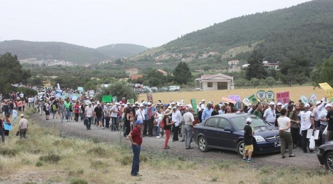 Aliağa'da toplanan çevrecilerden tek ses 'Kömürden kurtul'