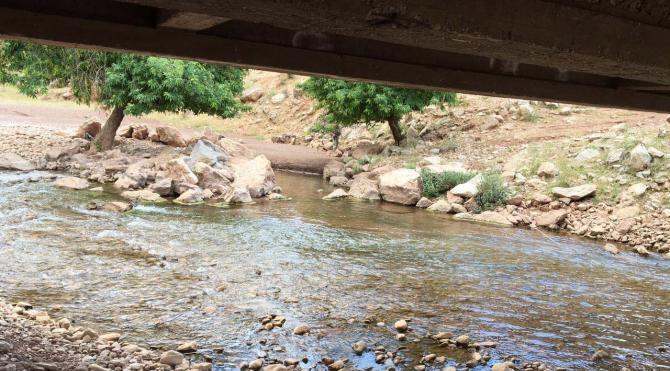 PKK'lıların köprüye tuzakladıkları patlayıcı imha edildi