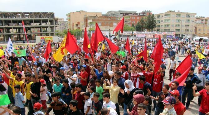 Doğu ve Güneydoğu'da 1 Mayıs kutlamaları sakin geçti