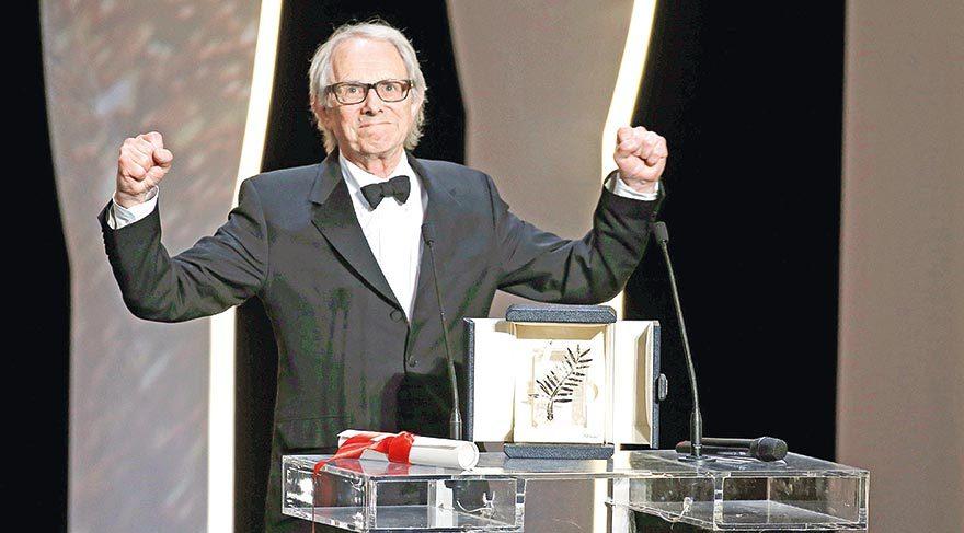 Ken Loach, ikinci kez Altın Palmiye kazanan dokuzuncu yönetmen oldu.
