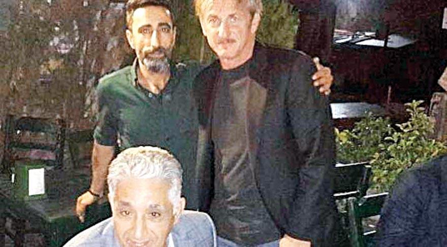 Sean Penn İstanbul gecelerinde