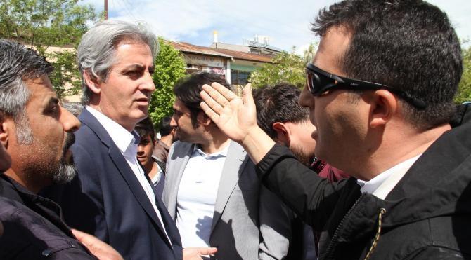 HDP'li milletvekillerine açık alanda konuşma izni verilmedi