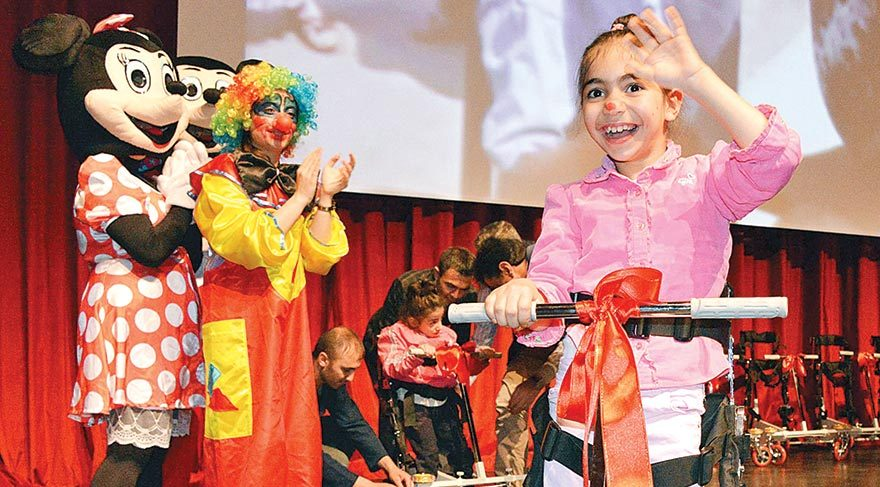 Engelli çocuklara armağan