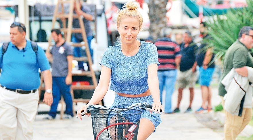 Göcek'te bisiklet keyfi