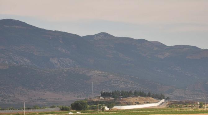 İslahiye'de Suriye sınırında güvenlik önlemleri arttırılıyor