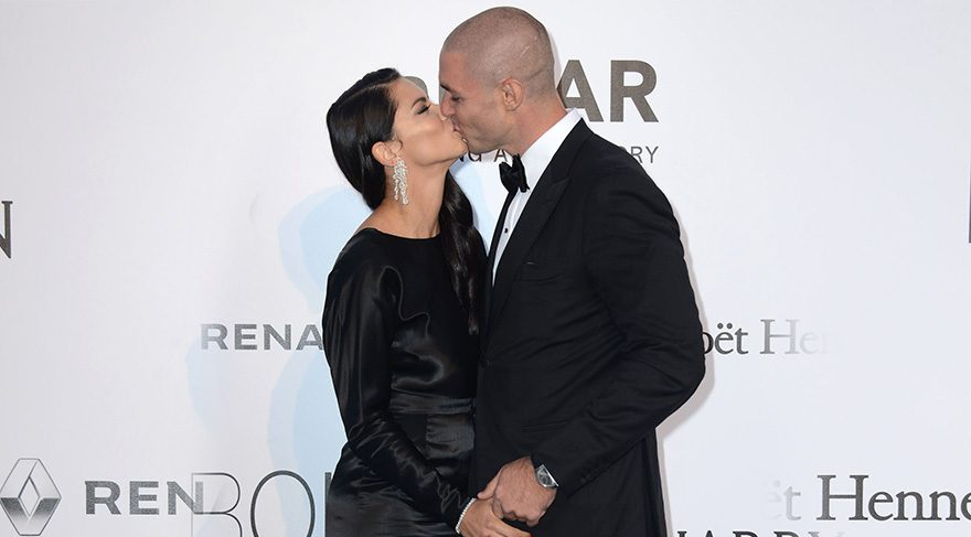 Adriana Lima yeni sevgilisi Joe ile galada görüntülendi